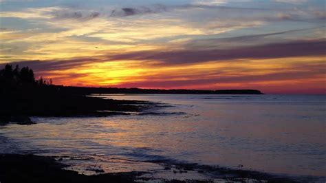 Beach Waves Sound At Sunset Calming Natural Ocean Sounds