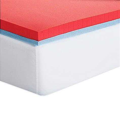 bed bath and beyond mattress topper serta 174 3 inch all seasons memory foam mattress topper