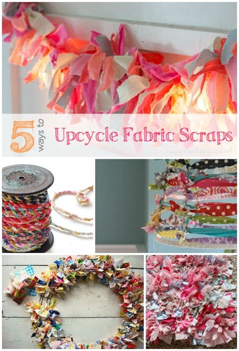 ways  upcycle  fabric scraps infarrantly creative