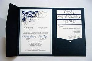 Blue navy and silver vietnamese wedding invitations flickr for Diy vietnamese wedding invitations