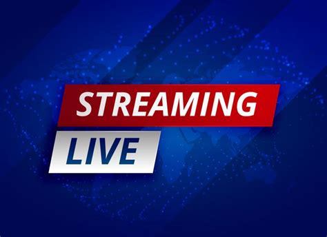 Tv Vector Template by Streaming Live News Background Template Download Free