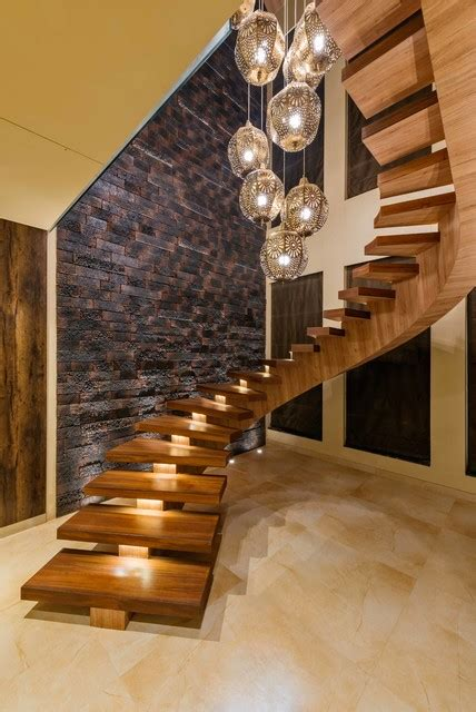 shalom residential bungalow contemporary staircase