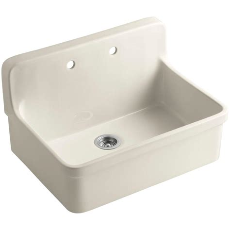 kohler gilford sink 24 kohler gilford apron front wall mount vitreous china 24 in