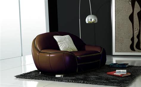 canapé en cuir italien 3 places modèle cotton