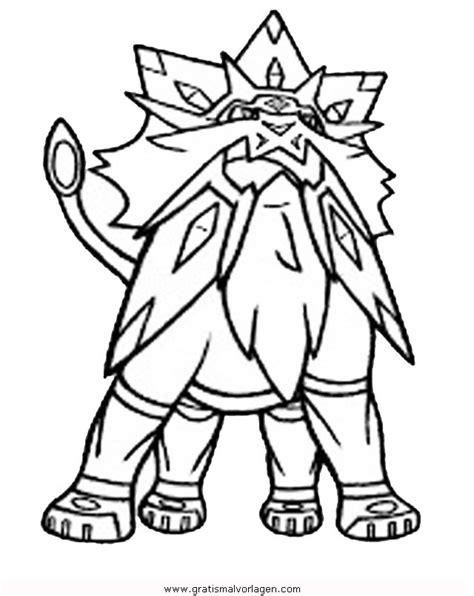 pokemon solgaleo  gratis malvorlage  comic