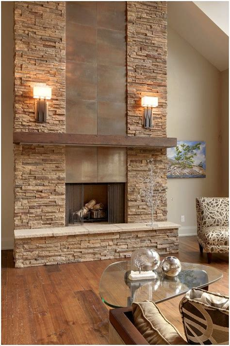 fireplace wall tile stacked fireplace surround woodworking projects
