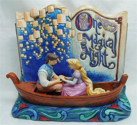 disney enesco jim shore rapunzel storybook