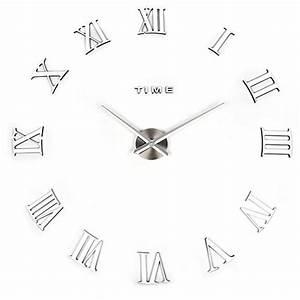 Designer Uhr Wand : design wand uhr diy gro e wanduhr 3d effekt home ~ Michelbontemps.com Haus und Dekorationen