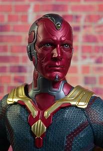 Review And Photos Of Hot Toys Avengers Vision Sixth Scale