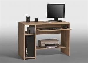 Meuble Bureau Ordinateur : petit meuble pour imprimante sweet meuble pour ordinateur ~ Nature-et-papiers.com Idées de Décoration