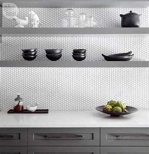 Copper Kitchen Backsplash Ideas - 28 creative penny tiles ideas for kitchens digsdigs