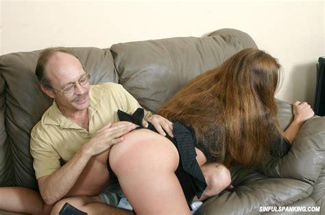 Old Man Spanking Busty Babe 2994