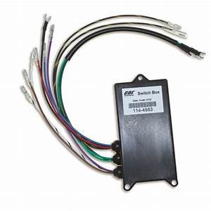 Cdi Switch Box Mercury 3 Cyl Outboard 65