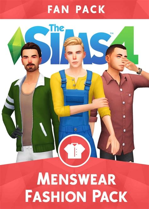 Menswear Fashion Pack At Wyatts Sims Sims 4 Updates