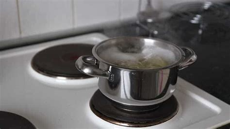 boiling steam hd cookware professional steaming coming pot sides really need shutterstock