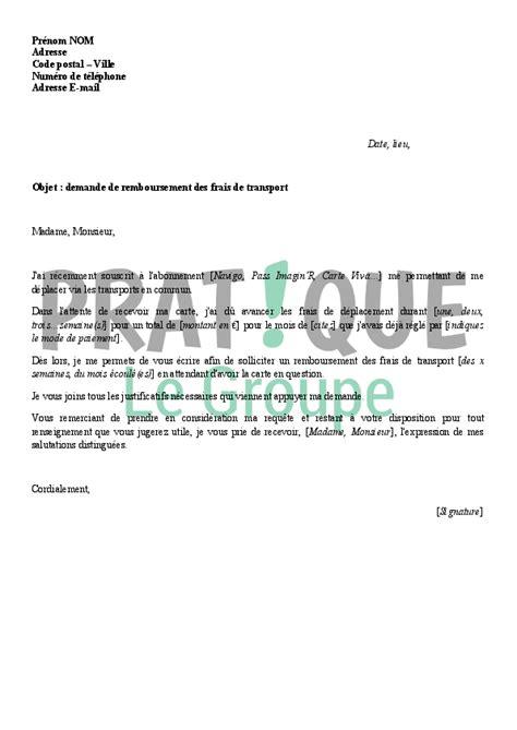 si鑒e ratp recrutement modele lettre frais kilometrique document