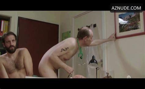 Alain Bouzigues Satya Dusaugey Shirtless Penis Scene In