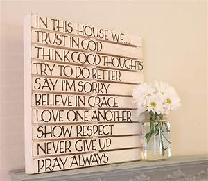 DIY Pallet Wall Art - Love of Family & Home