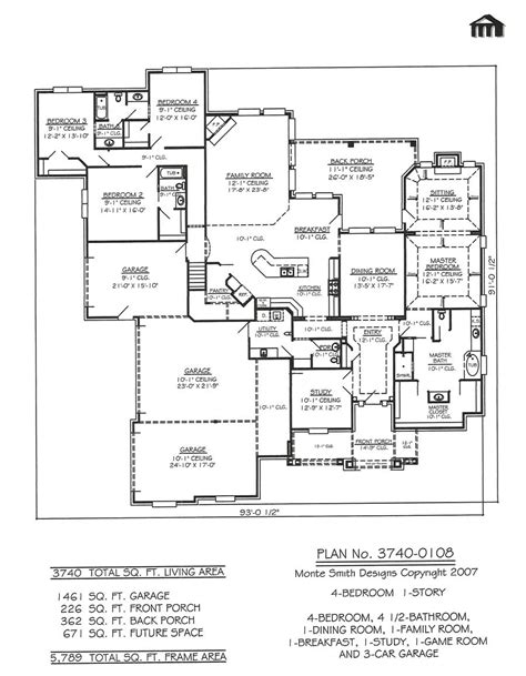 garage house floor plans bedroom car garage floor plans small house with custom and