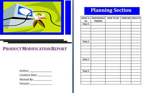Modification To Product by Financial Reports Free Report Templates Part 2