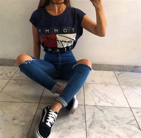 25+ Best Ideas about Vans Outfit Girls on Pinterest | Skater outfits Skater girl outfits and ...