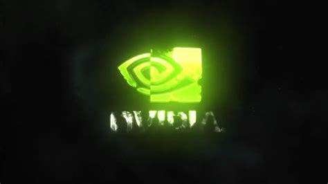 Nvidia Animated Wallpaper - nvidia intro logo