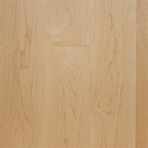 "3/4"" x 3 1/4"" Prefinished Clear Maple Hardwood Flooring"