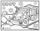 Plow Coloring Snow Pages Truck Drawing Printable Getdrawings Getcolorings sketch template