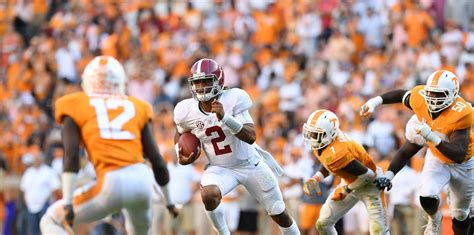 Tennessee upset of Alabama would rank among the biggest of ...