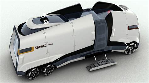 gmc pad futuristic rv cool rv design concept http auto