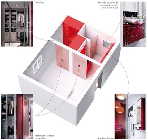 chambre parentale avec dressing et salle de bain amenagement chambre parentale avec salle de bain et