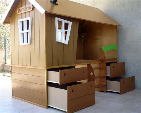 cabane dans chambre lit cabane pour chambre d 39 enfant