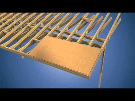 gp roof sheathing installation instructions youtube