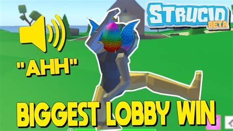 biggest lobby  strucid battle royale roblox