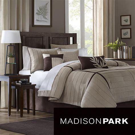 madison park dune beigebrown  piece contemporary