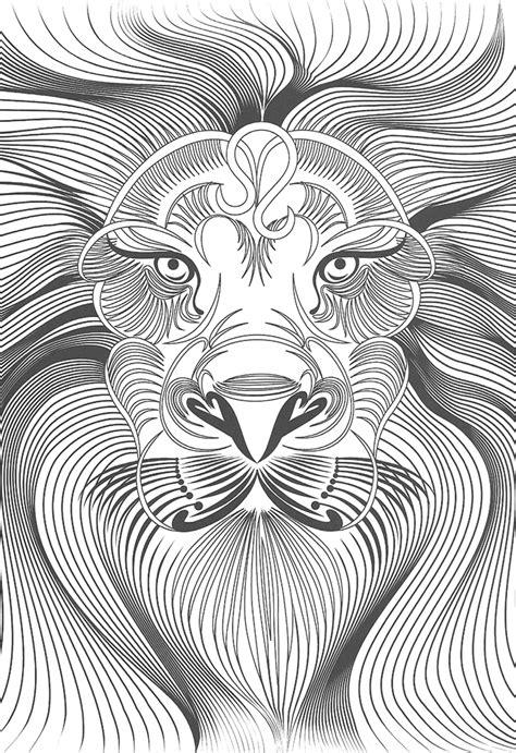 Différents Tatouages à Imprimer Et à Colorier Ici Un Lion