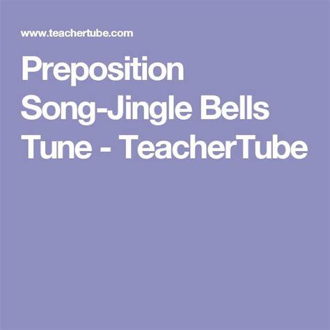 preposition song jingle bells tune teachertube