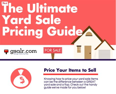 How To Price For A Garage Sale by The Ultimate Yard Sale Pricing Guide Garage Sale