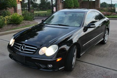 car engine manuals 2007 mercedes benz clk class electronic toll collection purchase used 2007 mercedes benz clk550 with amg package 2 door coupe no reserve in houston