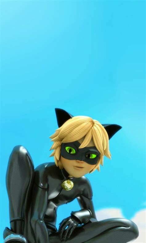 aesthetic chat noir wallpapers