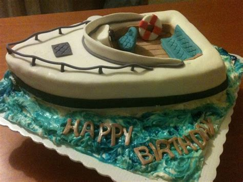 Speed Boat Birthday Cake by Boat Cakecentral