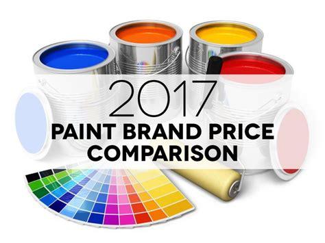 paint price comparison 2017 infographic includes 22