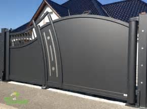 Portail 3 Metres : portail 1 battant 4m portail battant 4m alu sfrcegetel ~ Premium-room.com Idées de Décoration