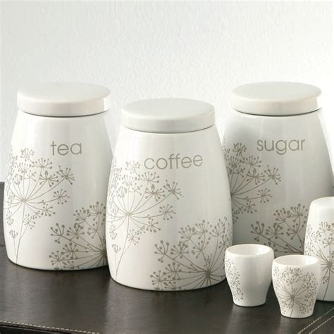 kitchen tea coffee sugar canisters ceramic tea coffee sugar jars canister set of 3 kitchen