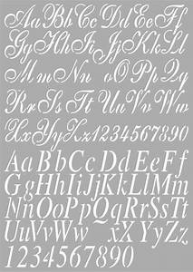 Buchstaben Schablone Metall : sjabloon alfabet 2 het brocante huis ~ Frokenaadalensverden.com Haus und Dekorationen