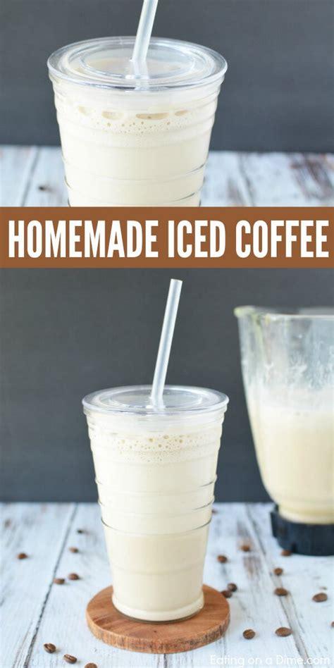 Iced coffee is my life. Homemade iced coffee recipe - Cold coffee recipe