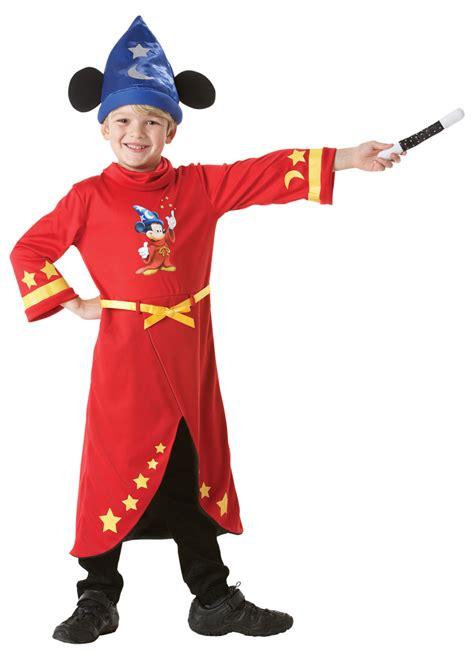 Mickey Mouse Boys Fantasia Disney Fancy Dress Kids Childrens Childs Costume New | eBay