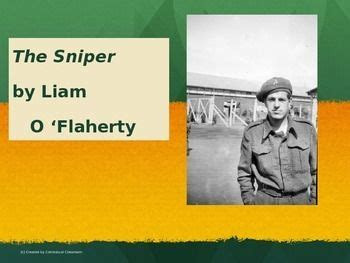 sniper  liam oflaherty short story lesson