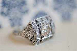 vintage inspired wedding rings vintage inspired engagement ring onewed