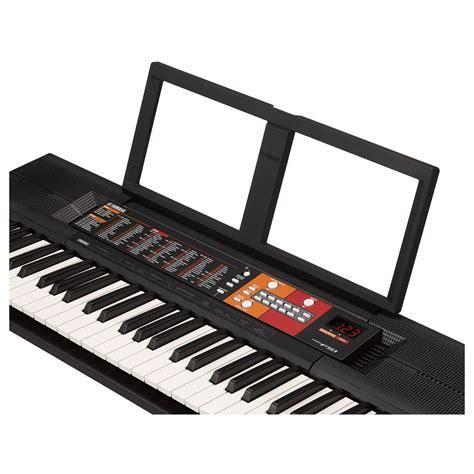 yamaha psr f51 yamaha psr f51 portable keyboard at gear4music